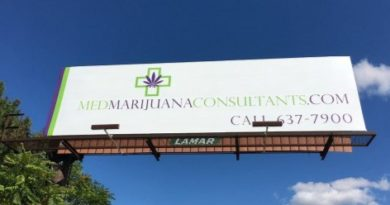marijuana billboard new york, medical, marijuana, cannabis, advertising
