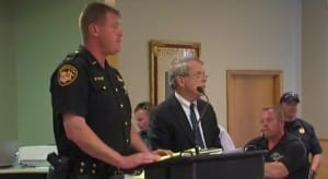 Pike County Sheriff Charles Reader and Ohio AG Mike Dewine address the media on Saturday. Image: http://www.onenewspage.com. Murdered Ohio Family Were Growing Cannabis