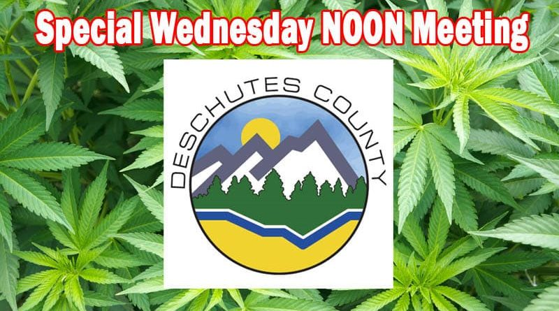 Marijuana Deschutes Regulations