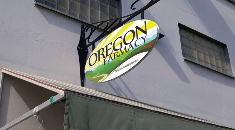 Oregon Farmacy Entrance