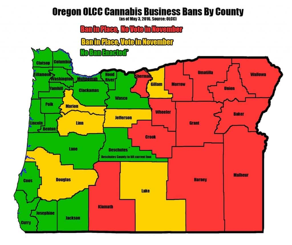 Oregon_Counties Banning_May_2016 copy