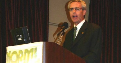 Allen St. Pierre of NORML. St. Pierre Resigns as NORML Executive Director