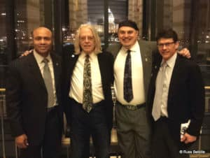 Neill Franklin (LEAP), Keith Stoup (NORML), Russ Belville, and Randy Quast. Image: Courtesy Russ Belville