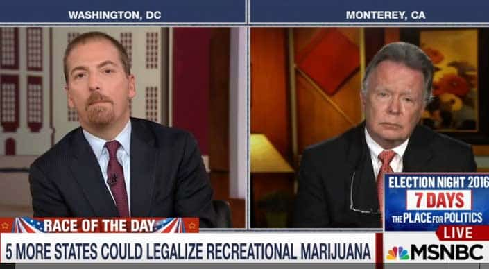 MTP Daily, marijuana, cannabis, 9 initiatives, nine, states, legalization, DEA agent