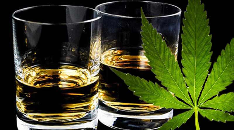 No Marijuana in Alcohol,Oregon Bans THC in Alcohol,alcohol,marijuana,Oregon,OLCC