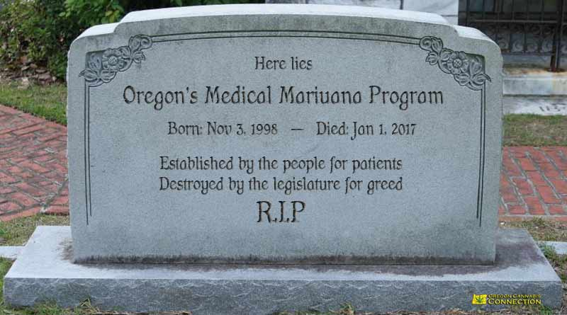 Op-Ed, Sajo, RIP OMMP, End of medical marijuana, Oregon, OHA, OLCC, Early Sales, End, Extend