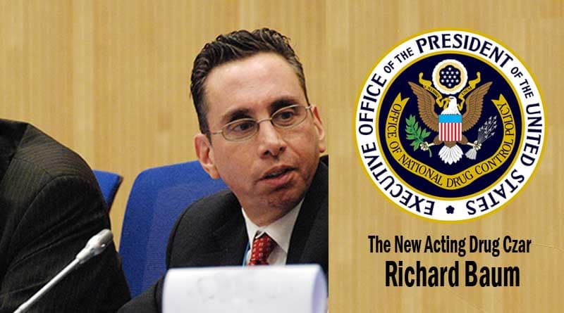 Drug Czar,Richard Baum,ONDCP,Trump,Marijuana,cannabis