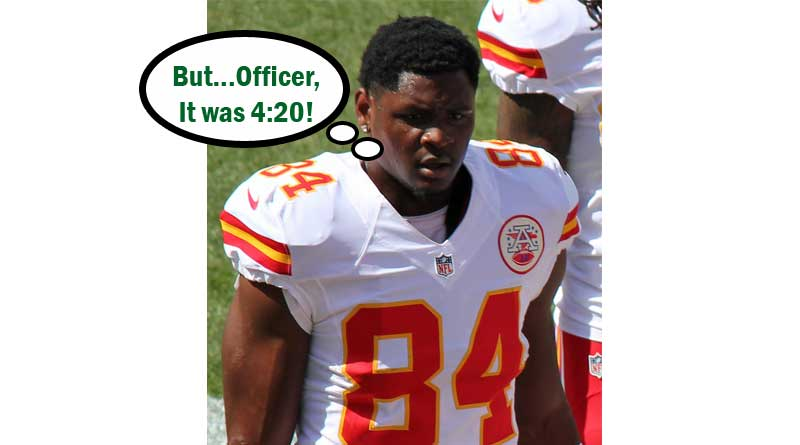 Demetrius Harris,Chiefs Tightend Arrested,marijuana,missouri,kansas city chiefs,4:20