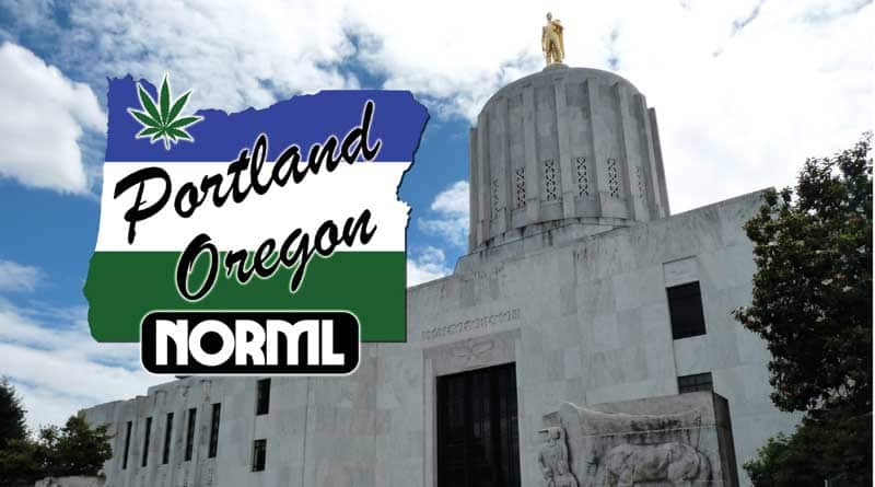 Leland Berger,Portland NORML,Legislation,Oregon,Lobbying,SB307,SB301,Bills