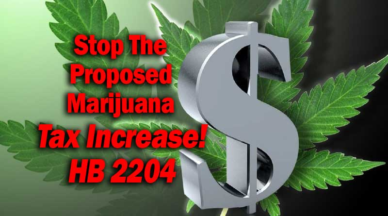 Oregon,Marijuana,tax,increase,HB 2204,2204,local, 8%