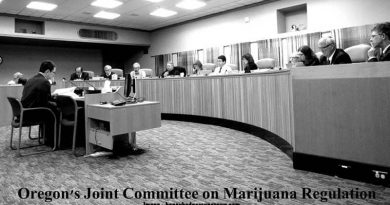 Cliff Robinson,Joint Committee on Marijuana,testimony,uncle cliffy, SB 307