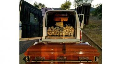 hearse,coffin,marijuana,smuggling,AZ,Arizona,border,mexico,busted