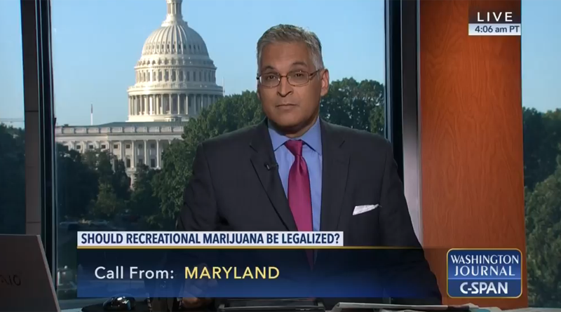 C-Span,Recreational Marijuana,Washington Journal,Viewer Call-in