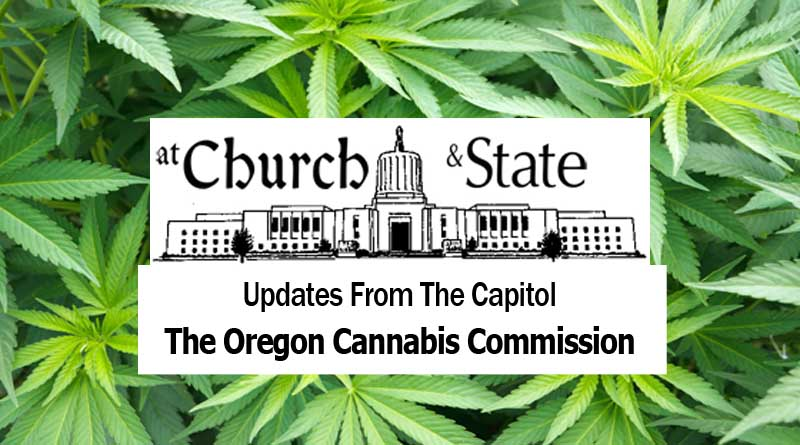 Oregon Cannabis Commission, OCC, Duties, cannabis commission