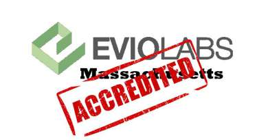 EVIO, Accreditation, A2LA, massachusetts