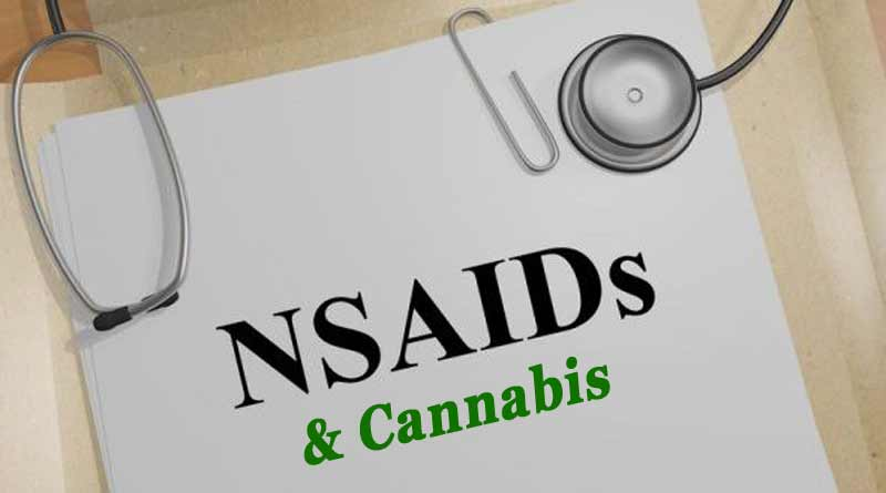 Prof of Pot, NSAIDs and cannabis, interactions, cannabis, NSAID
