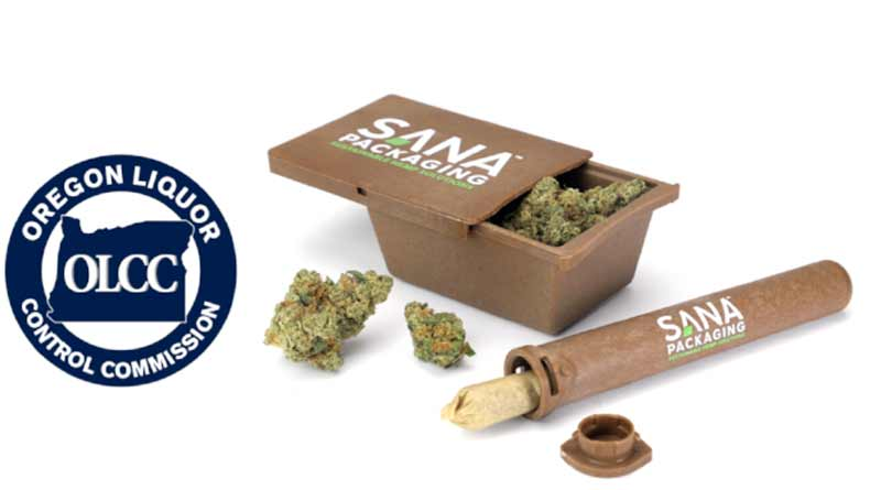 Sana Packaging, Hemp plastic, cannabis packaging